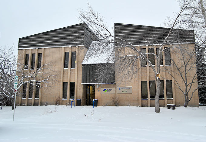 exterior view of the Healthy By Nature clinic in Calgary