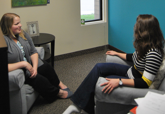 counselling session with Jennifer McCormick