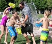 summer time, kids playing: the unstructured life!